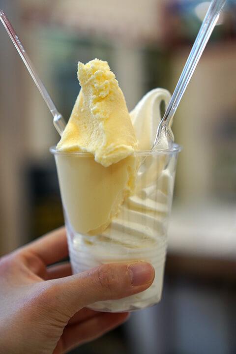 美園アイスクリーム イオン小樽店 ソフトクリーム&ジェラート